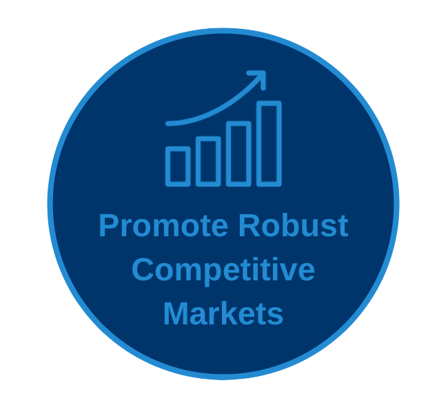 Promote Robust Competitive Markets